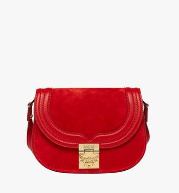 Trisha Shoulder Bag in Suede