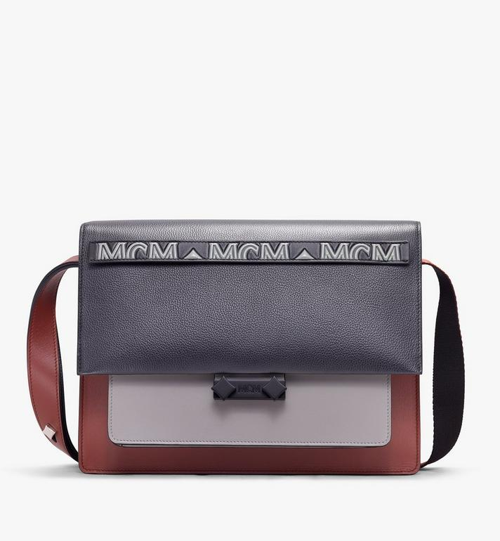MCM Milano Shoulder Bag in Calfskin Leather Alternate View