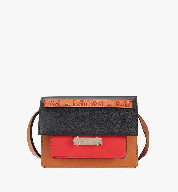 MCM Milano Shoulder Bag in Calfskin Leather Alternate View