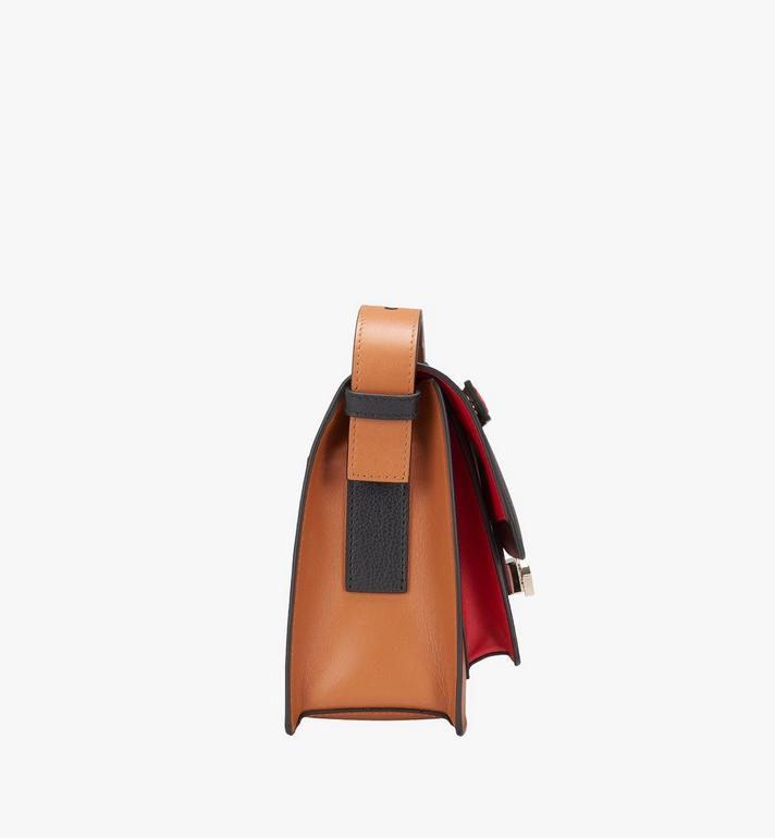 MCM Milano Shoulder Bag in Calfskin Leather Black MWS9ADA22BK001 Alternate View 2