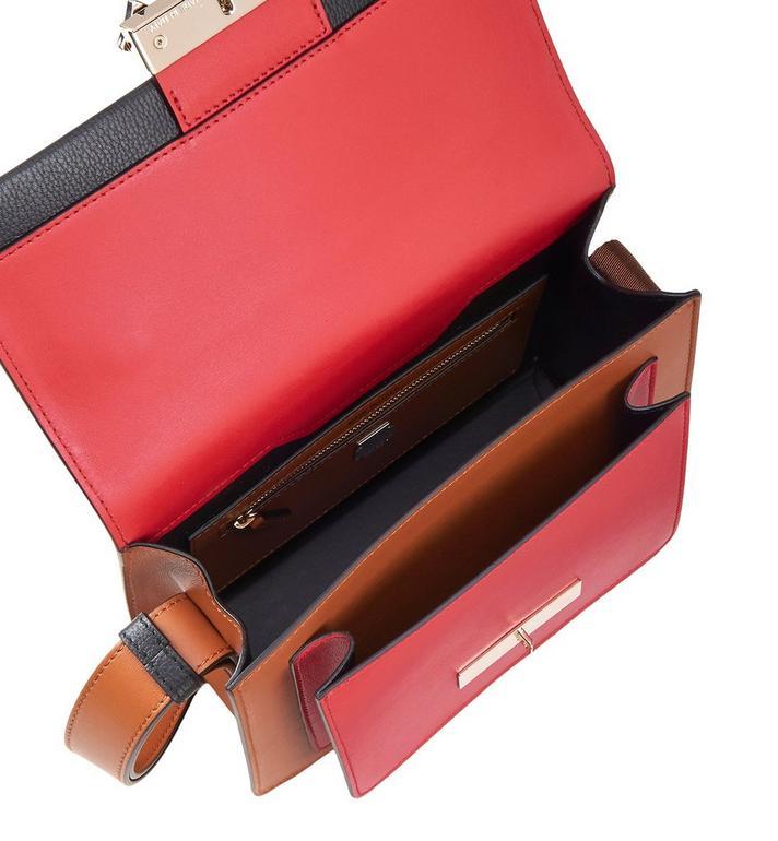 MCM Milano Shoulder Bag in Calfskin Leather Black MWS9ADA22BK001 Alternate View 4