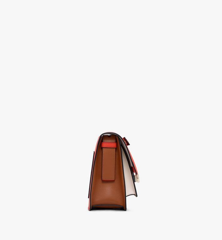MCM Milano Shoulder Bag in Calfskin Leather Alternate View 2