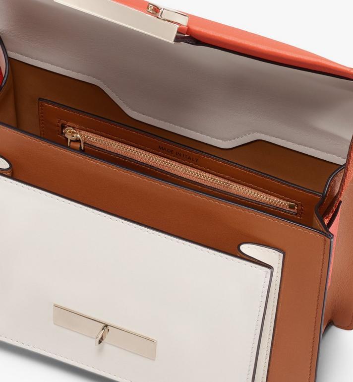 MCM Milano Shoulder Bag in Calfskin Leather Alternate View 4
