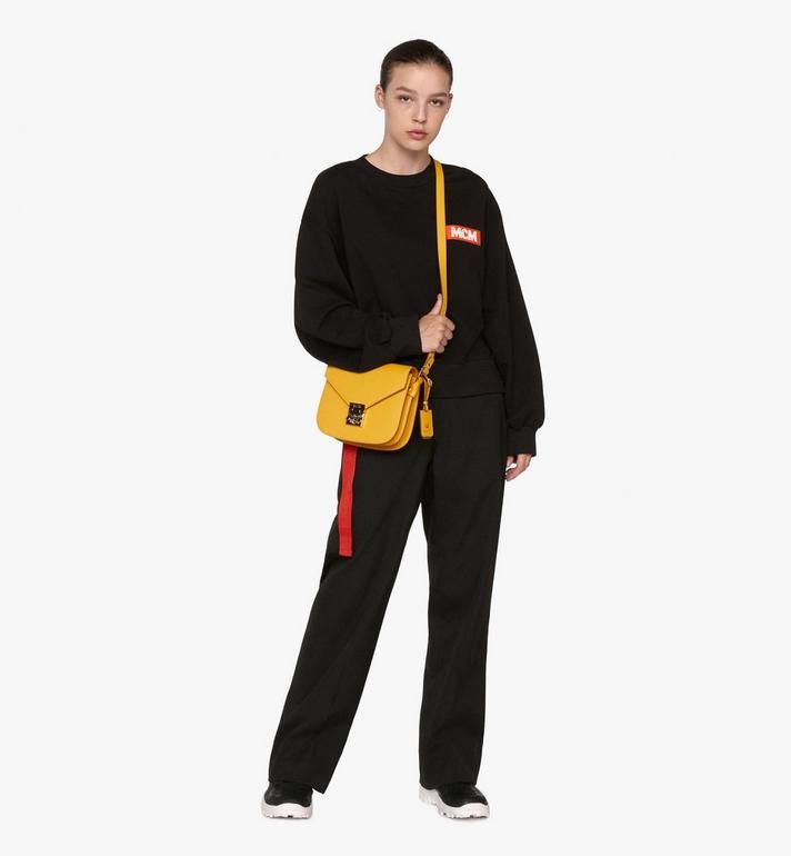 MCM Patricia Shoulder Bag in Park Avenue Leather Alternate View 5