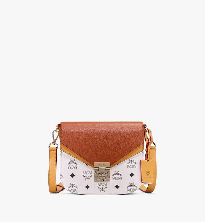 MCM Patricia Shoulder Bag in Color Block Leather Alternate View 1