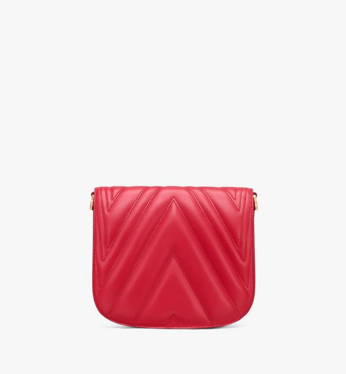 MCM Patricia Shoulder Bag in Quilted Leather  MWS9APA81RU001 Alternate View 3