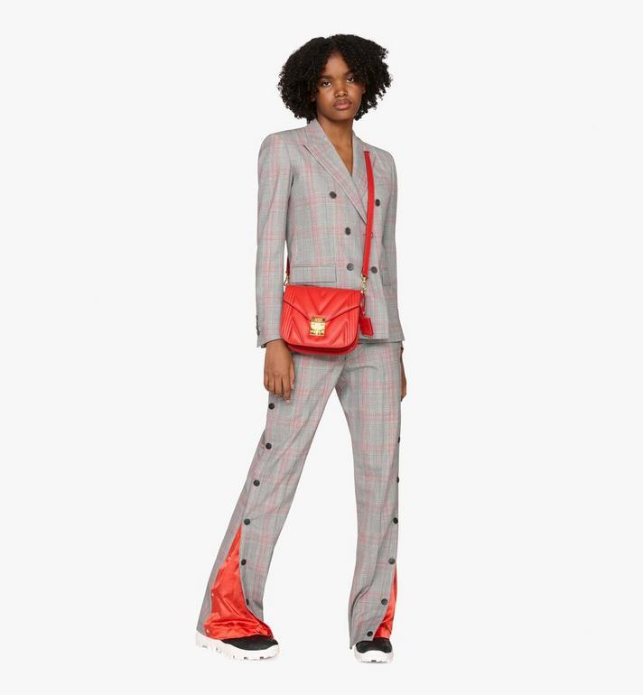 MCM Patricia Shoulder Bag in Quilted Leather  MWS9APA81RU001 Alternate View 5