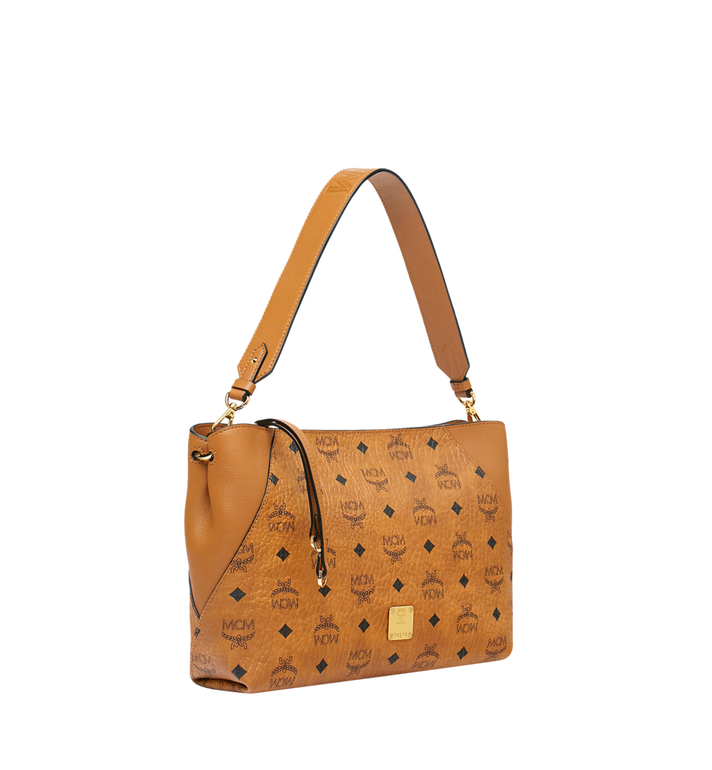 MCM Klara Schultertasche in Visetos Alternate View 2