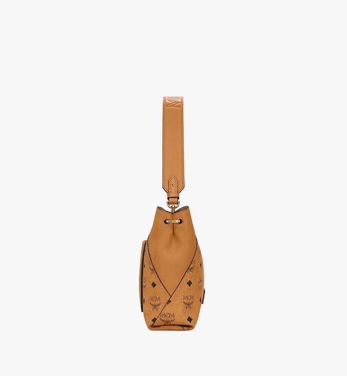 MCM Klara Shoulder Bag in Visetos Cognac MWS9SKM89CO001 Alternate View 2