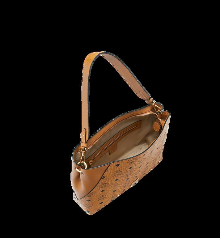 MCM Klara Shoulder Bag in Visetos Cognac MWS9SKM89CO001 Alternate View 5