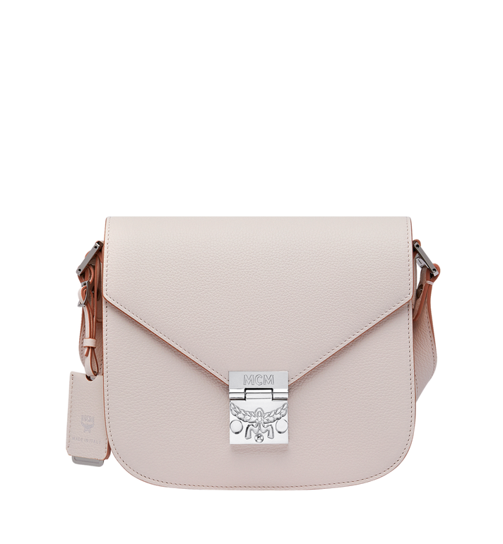 MCM Patricia Shoulder Bag in Grained Leather Alternate View