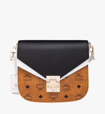 Patricia Shoulder Bag in Visetos Leather Block