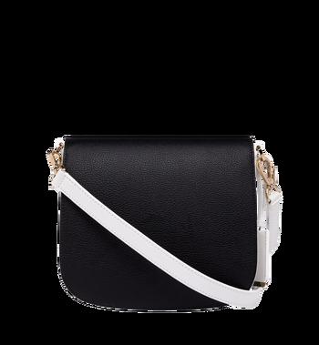 MCM Patricia Shoulder Bag in Visetos Leather Block Alternate View 4