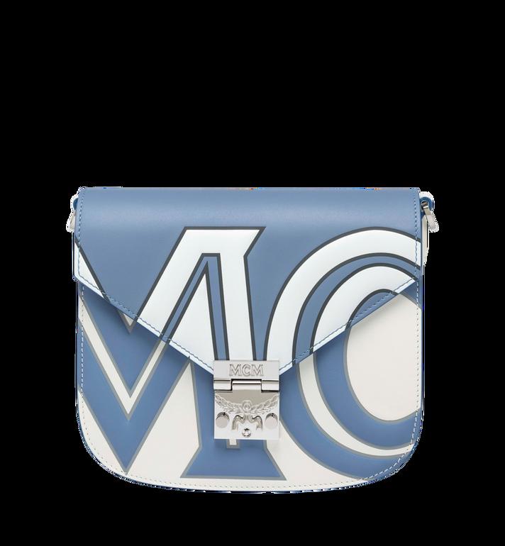 MCM Patricia Schultertasche aus Leder mit kontrastfarbenem Logo Alternate View