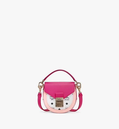 กระเป๋าสะพายไหล่ Patricia ลาย Visetos สีคัลเลอร์บล็อก