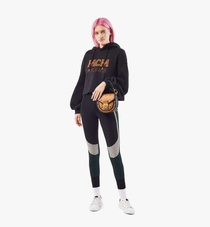MCM Visetos 系列的拼色皮革 Patricia 肩揹包 Cognac MWSAAPA09CO001 Alternate View 6