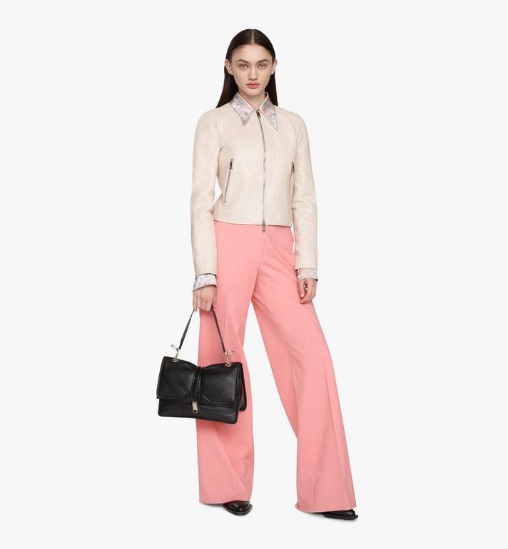 MCM Candy Shoulder Bag in Nappa Leather Black MWSASCY04BK001 Alternate View 5