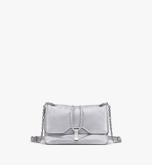 Candy Shoulder Bag in Metallic Goat Leather