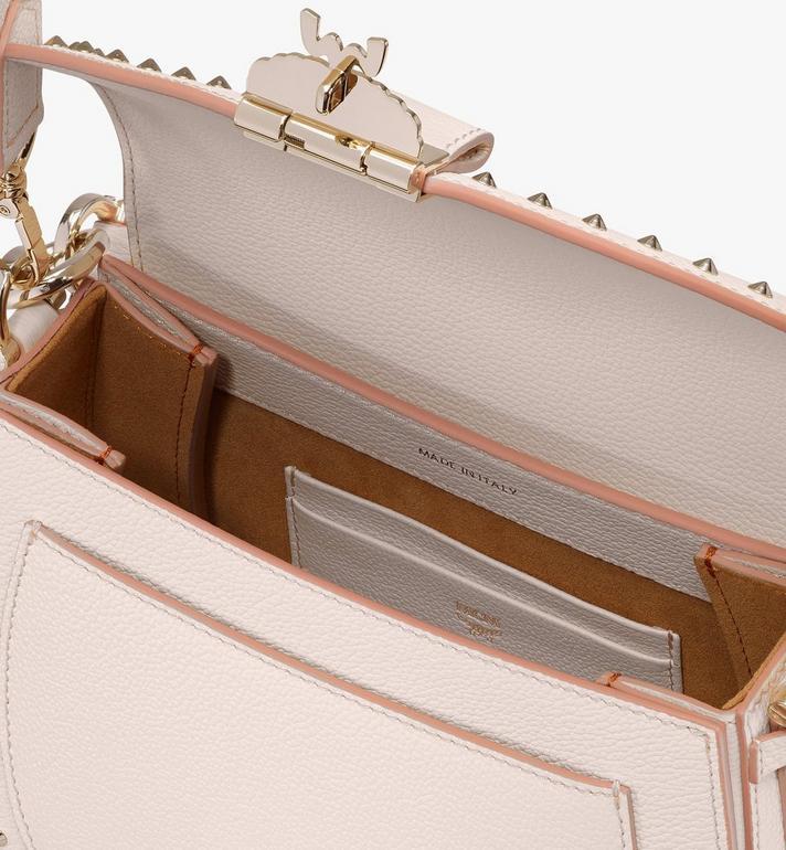 MCM Patricia Shoulder Bag in Studded Park Ave Leather Beige MWSASPA01IH001 Alternate View 4