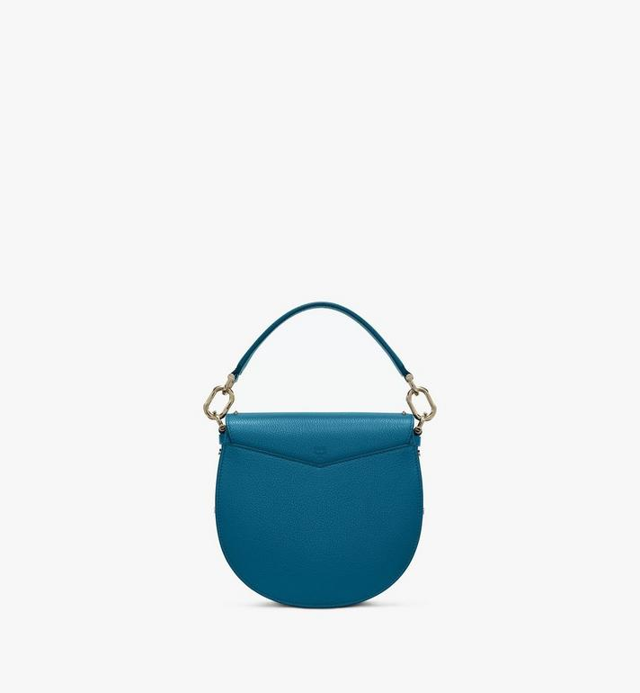 MCM Patricia Shoulder Bag in Studded Park Ave Leather Blue MWSASPA01JF001 Alternate View 3