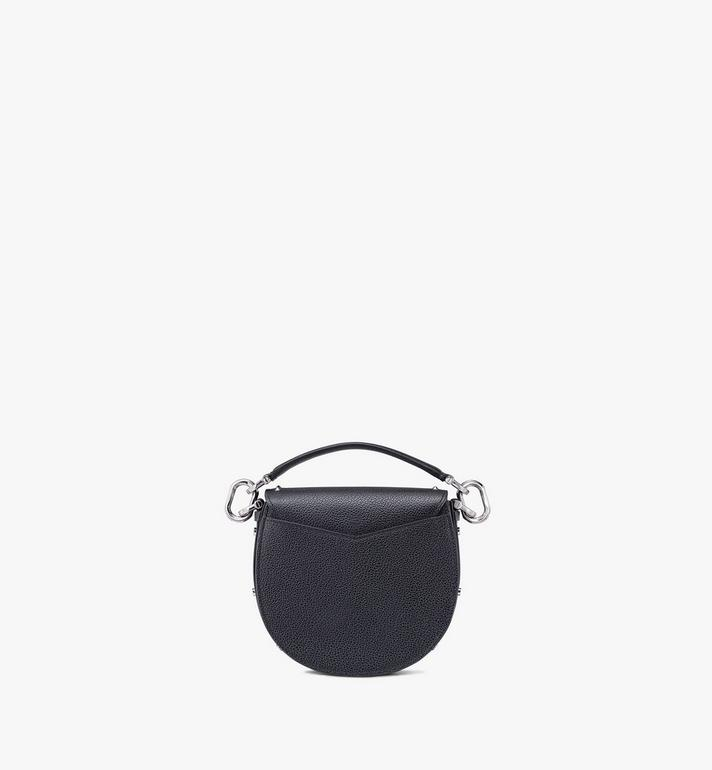 MCM Patricia Shoulder Bag in Studded Park Ave Leather Black MWSASPA02BK001 Alternate View 3