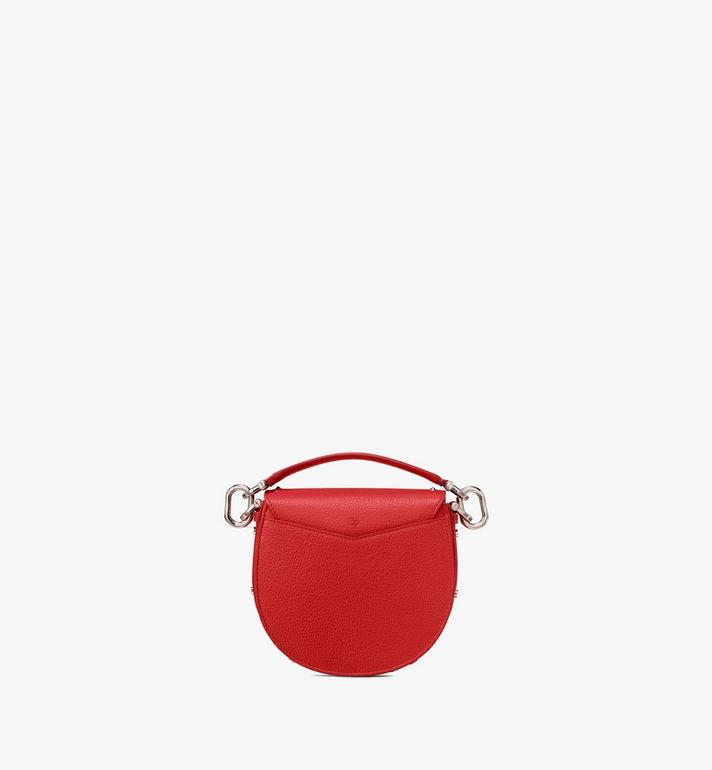 MCM Patricia Shoulder Bag in Studded Park Ave Leather Red MWSASPA02R4001 Alternate View 3