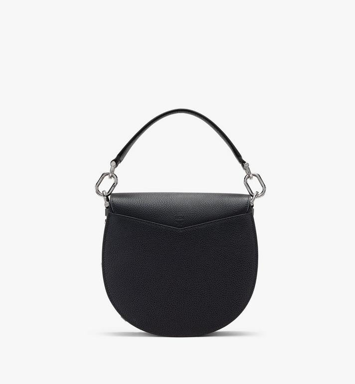 MCM Patricia Shoulder Bag in Park Avenue Leather Black MWSASPA03BK001 Alternate View 3