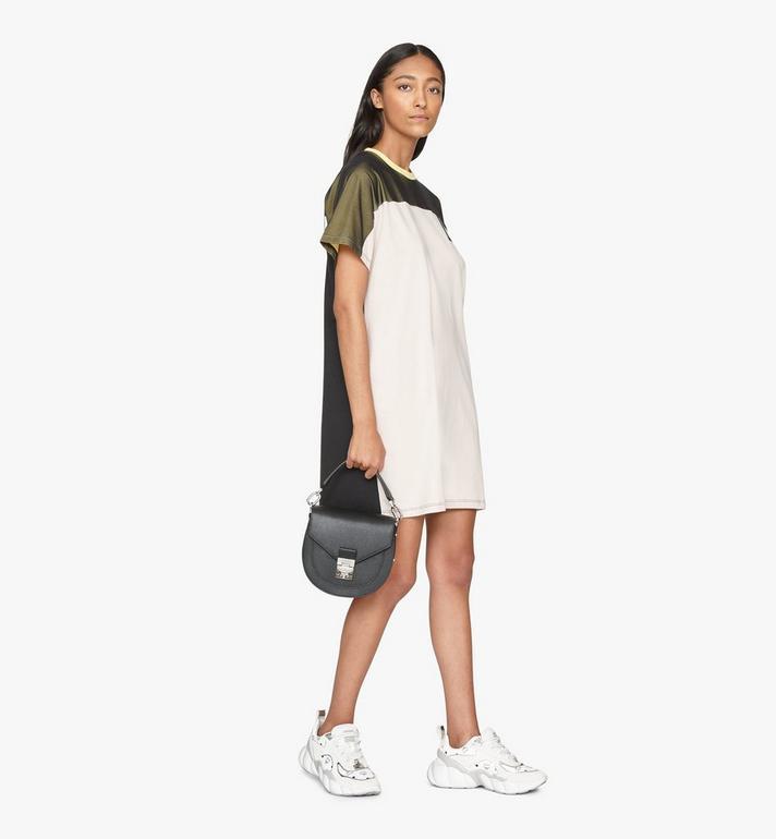MCM Patricia Shoulder Bag in Park Avenue Leather Black MWSASPA03BK001 Alternate View 5