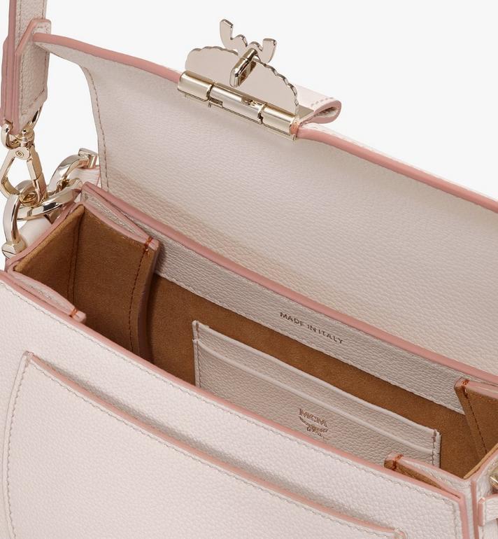 MCM Patricia Shoulder Bag in Park Avenue Leather Pink MWSASPA03IH001 Alternate View 4