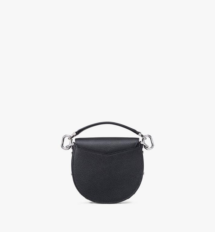 MCM Patricia Shoulder Bag in Park Avenue Leather Black MWSASPA04BK001 Alternate View 3