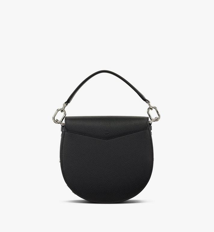 MCM Patricia Shoulder Bag in Color Block Leather Black MWSASPA05BK001 Alternate View 3