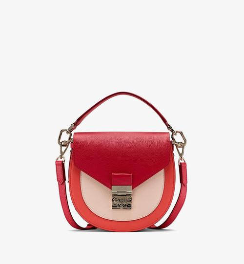 Patricia Shoulder Bag in Color Block Leather