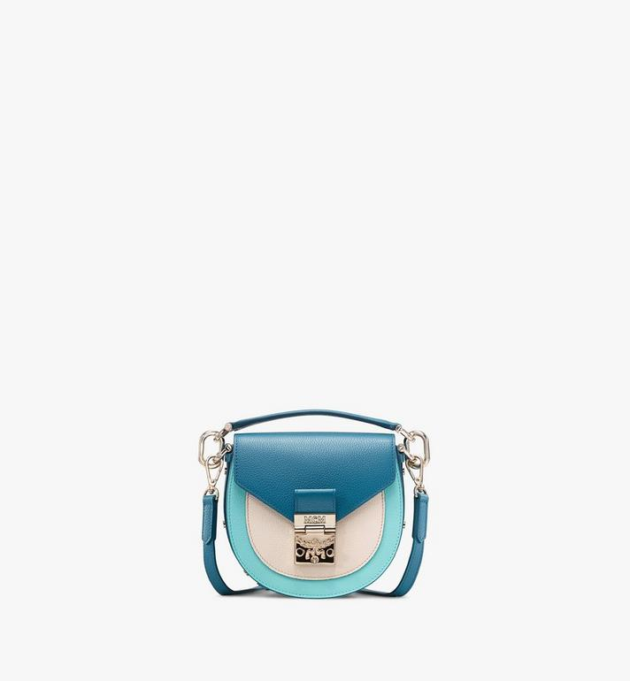 MCM Patricia Shoulder Bag in Color Block Leather Alternate View