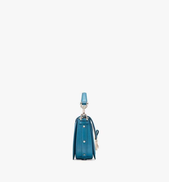 MCM Patricia Shoulder Bag in Color Block Leather Blue MWSASPA06JF001 Alternate View 2