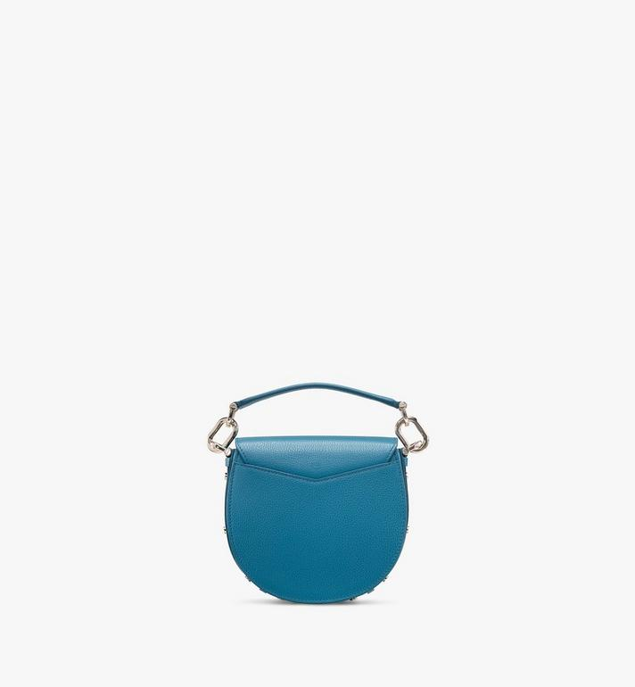 MCM Patricia Shoulder Bag in Color Block Leather Blue MWSASPA06JF001 Alternate View 3