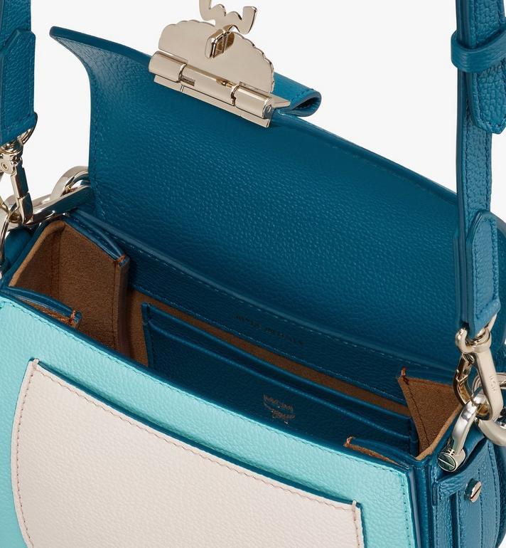 MCM Patricia Shoulder Bag in Color Block Leather Green MWSASPA06JF001 Alternate View 4