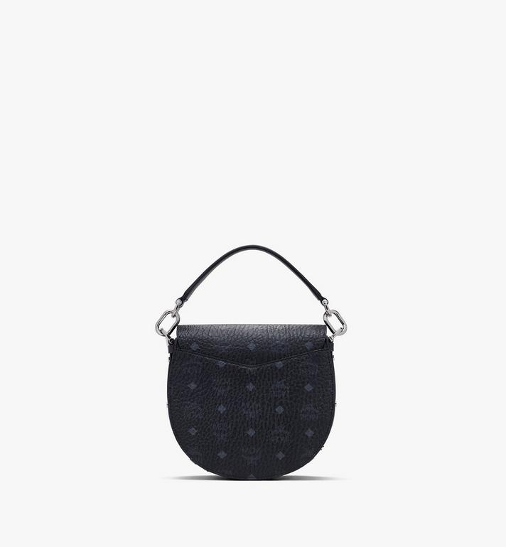 MCM Patricia Schultertasche in Visetos Black MWSASPA07BK001 Alternate View 3