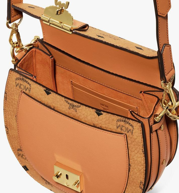 MCM Patricia Shoulder Bag in Visetos Cognac MWSASPA07CO001 Alternate View 4