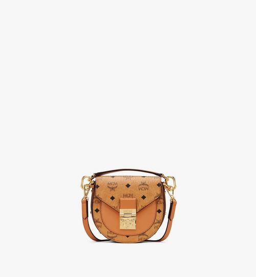 Mini sac porté épaule Patricia en Visetos