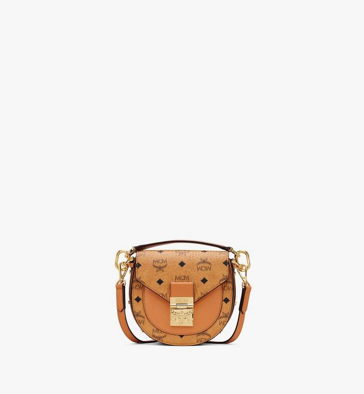 MCM Patricia Mini Shoulder Bag in Visetos Alternate View