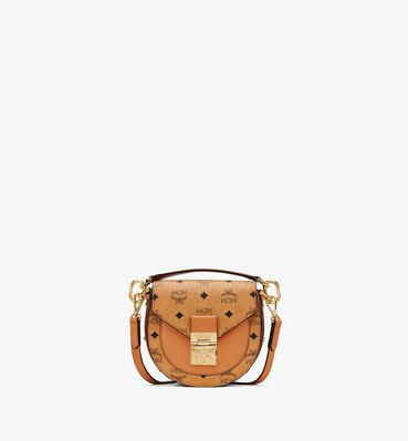 Patricia Mini Shoulder Bag in Visetos