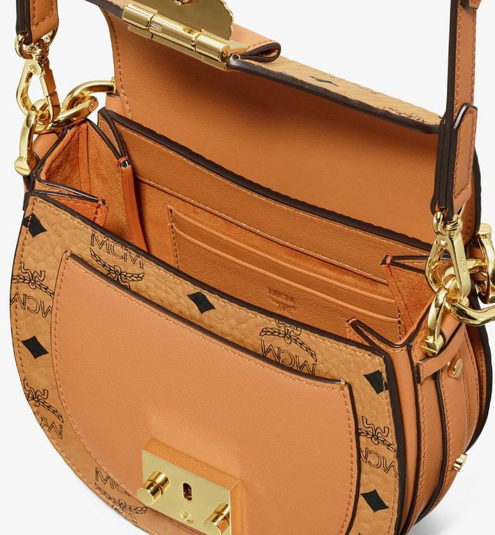MCM Visetos 系列 Patricia 迷你肩揹包 Cognac MWSASPA08CO001 Alternate View 4
