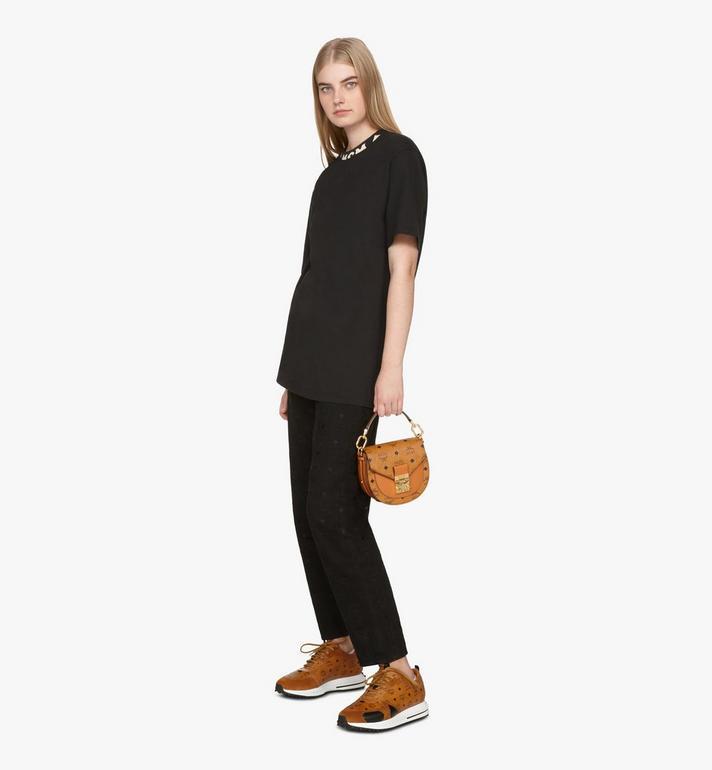 MCM Patricia Mini Shoulder Bag in Visetos Cognac MWSASPA08CO001 Alternate View 6