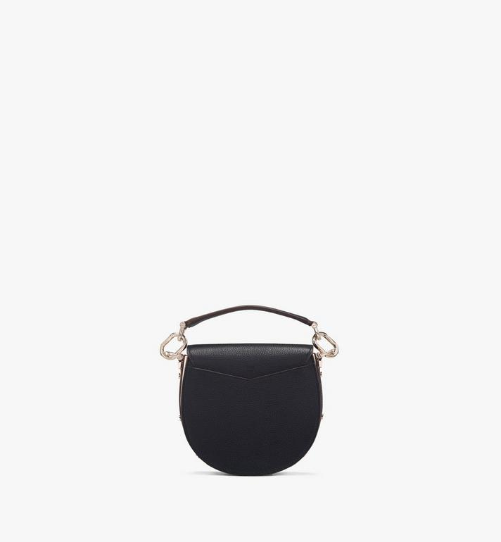 MCM Patricia Shoulder Bag in Color Block Visetos Black MWSASPA13BK001 Alternate View 3