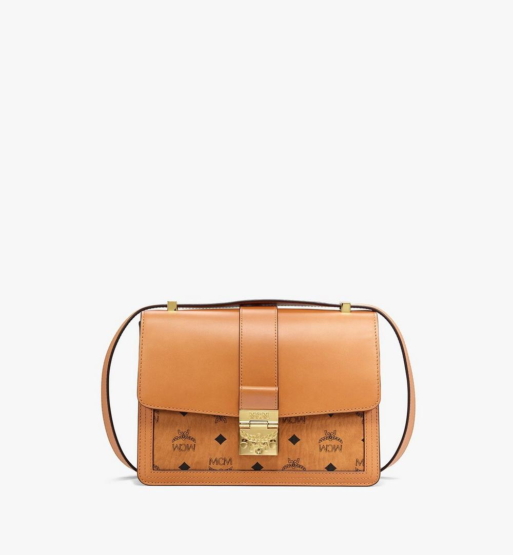 Tracy Shoulder Bag in Visetos Leather Mix 1
