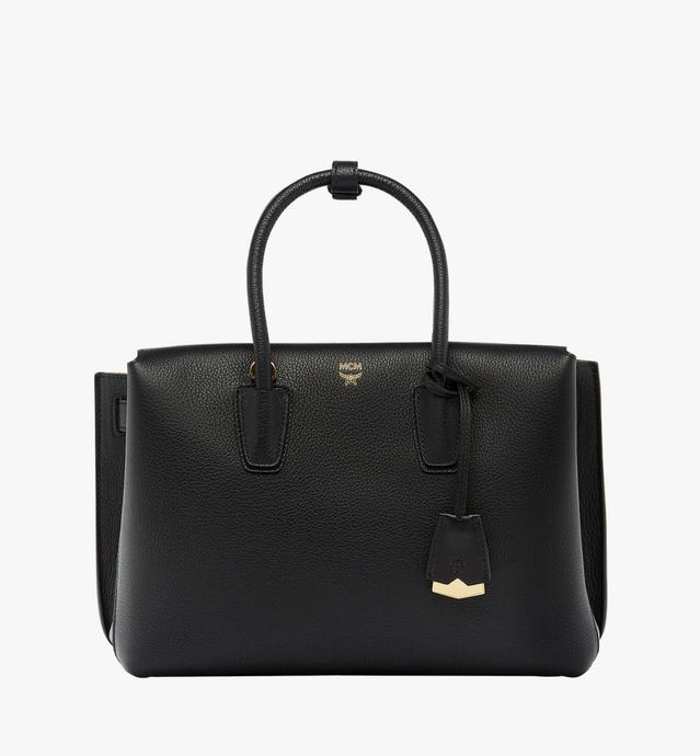 Milla Tote in Grained Leather