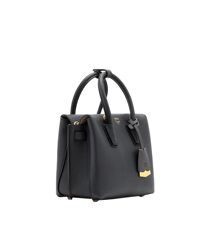 MCM Milla Tote in Grained Leather Alternate View 2