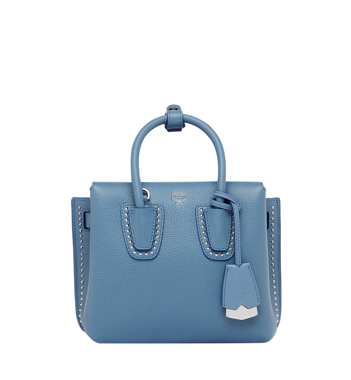 Milla Tote In Studded Outline Leather, Hf