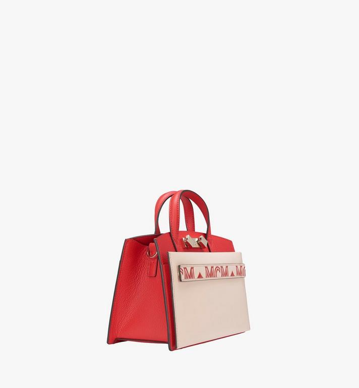 MCM Milano Tote Bag in Calfskin Leather Alternate View 2