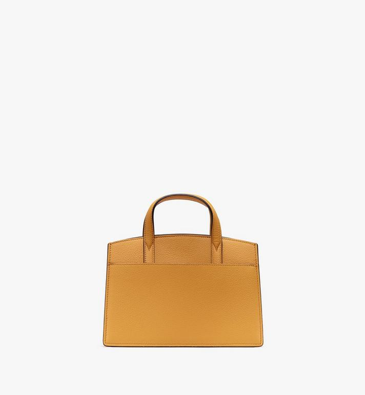 MCM Milano Tote Bag in Calfskin Leather Alternate View 3